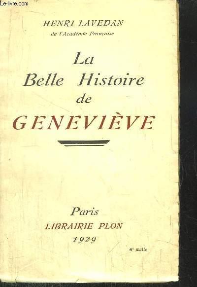 LA BELLE HISTOIRE DE GENEVIEVE