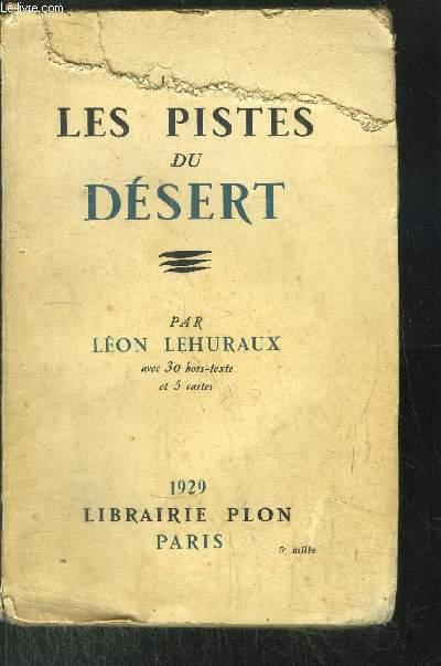 LES PISTES DU DESERT