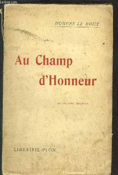 AU CHAMP D'HONNEUR