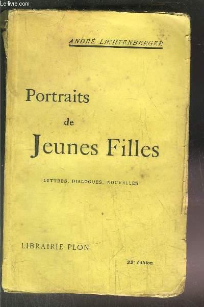PORTRAITS DE JEUNES FILLES