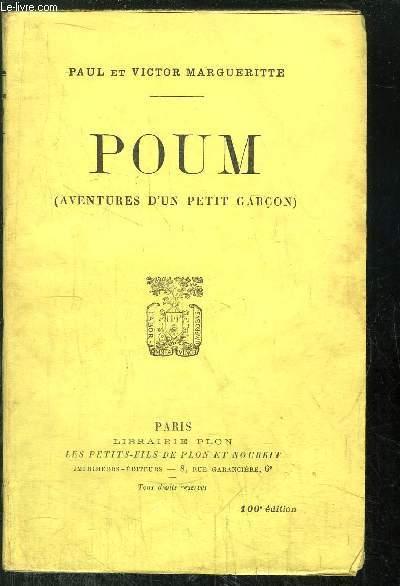POUM - AVENTURE D'UN PETIT GARCON
