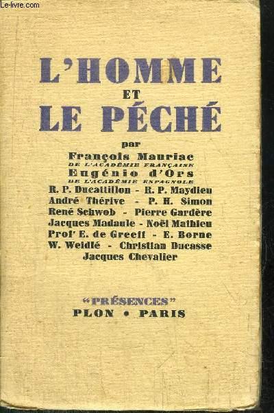 L'HOMME ET LE PECHE