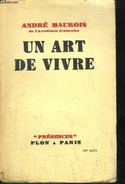 UN ART DE VIVRE