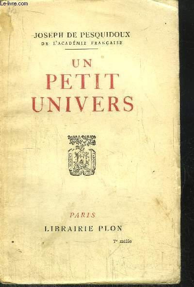 UN PETIT UNIVERS