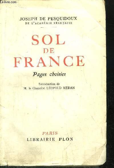SOL DE FRANCE