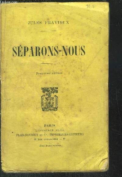 SEPARONS-NOUS
