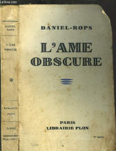 L'AME OBSCURE