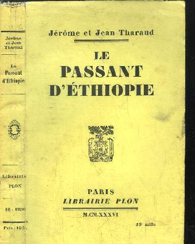 LE PASSANT D'ETHIOPIE