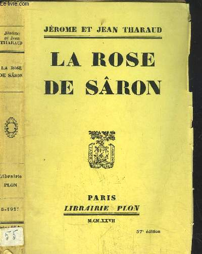 LA ROSE DE SARON
