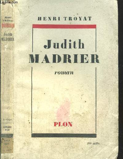 JUDITH MADRIER