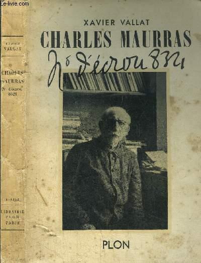 CHARLES MAURRAS - NUMERO D'ECROU 8.321