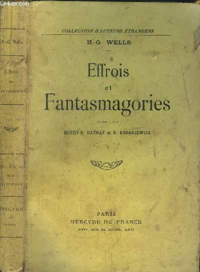 EFFROIS ET FANTASMAGORIES