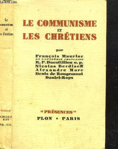 LE COMMUNISME ET LES CHRETIENS - COLLECTION