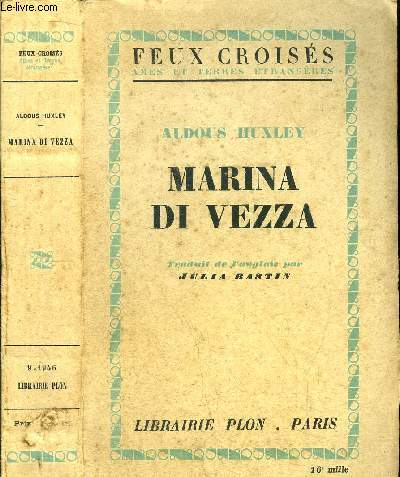 MARINA DI VEZZA - COLLECTION FEUX CROISES