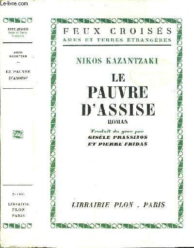 LE PAUVRE D'ASSISE  - COLLECTION FEUX CROISES