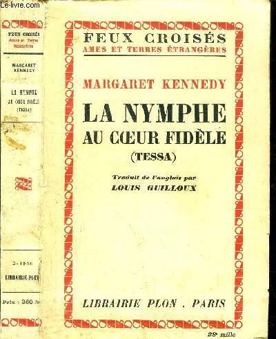 LA NYMPHE AU COEUR FIDELE (TESSA) - COLLECTION FEUX CROISES