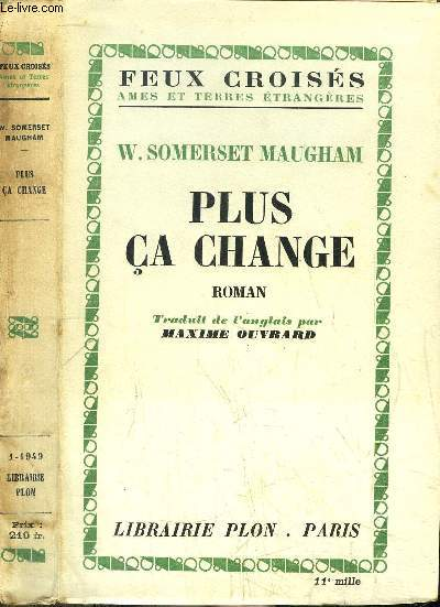 PLUS CA CHANGE - COLLECTION FEUX CROISES