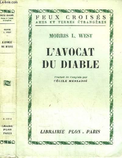 L'AVOCAT DU DIABLE- COLLECTION FEUX CROISES