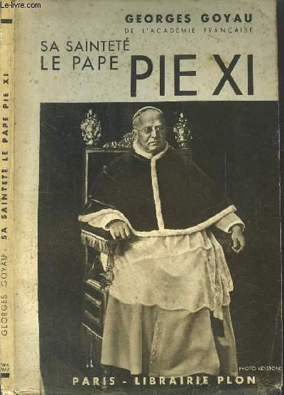 SA SAINTETE LE PAPE PIE XI