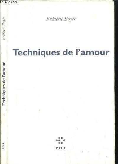 TECHNIQUES DE L'AMOUR