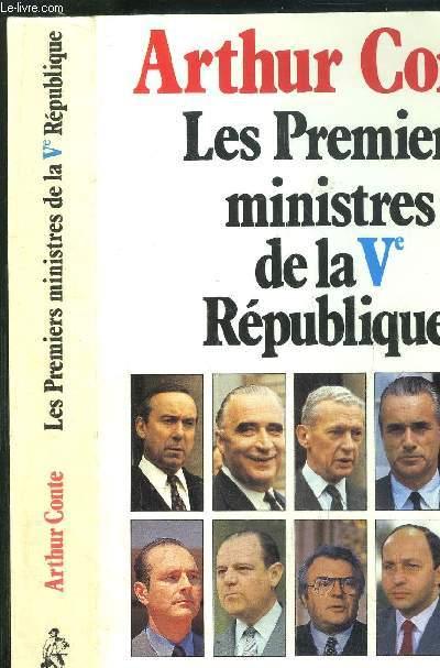 LES PREMIERS MINISTRES DE LA Vème REPUBLIQUE