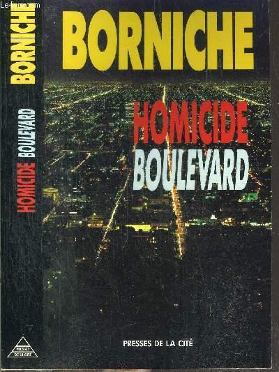 HOMICIDE BOULEVARD