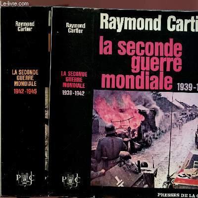 LA SECONDE GUERRE MONDIALE 1939-1942 - 2 VOLUMES - TOMES I+II