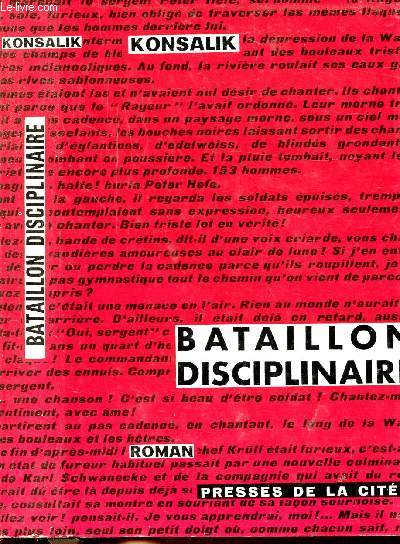 BATAILLON DISCIPLINAIRE