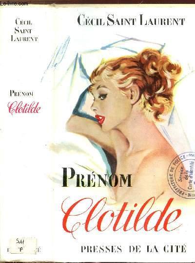 PRENOM CLOTILDE