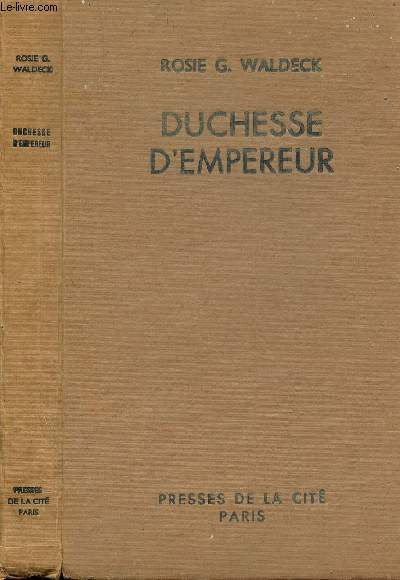 DUCHESSE D'EMPEREUR