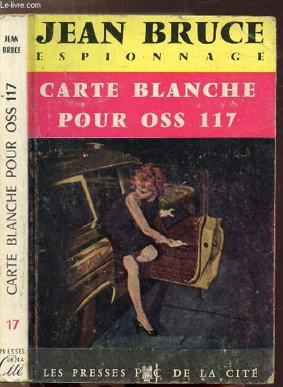 CARTE BLANCHE POUR OSS 117 -  - COLLECTION