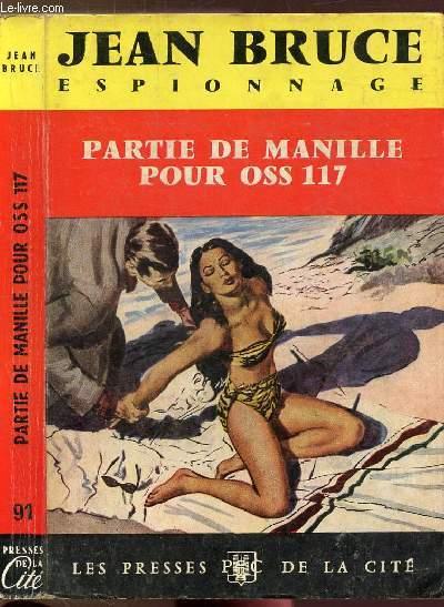PARTIE DE MANILLE POUR OSS 117 - COLLECTION