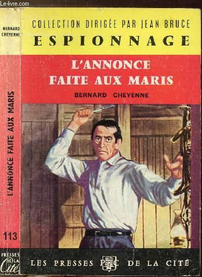 L'ANNONCE FAITE AUX MARIS - COLLECTION