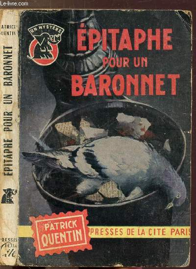 EPITAPHE POUR UN BARONNET- COLLECTION