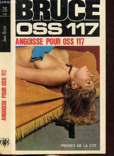 ANGOISSE POUR O.S.S. 117- COLLECTION JEAN BRUCE N°26