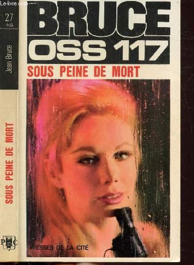 SOUS PEINE DE MORT- COLLECTION JEAN BRUCE N°27