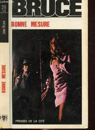 BONNE MESURE- COLLECTION JEAN BRUCE N°29