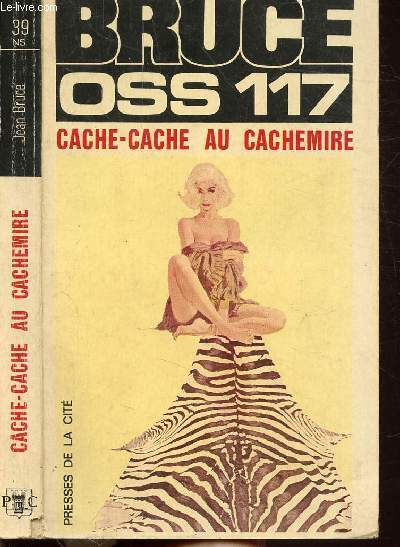 CACHE-CACHE AU CACHEMIRE - COLLECTION JEAN BRUCE N°39