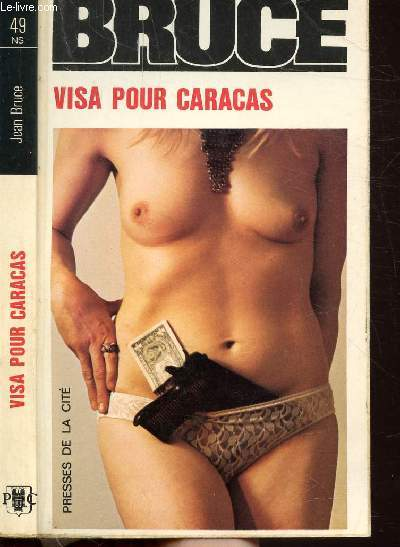 VISA POUR CARACAS - COLLECTION JEAN BRUCE N°49