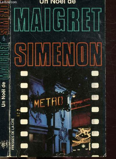 UN NOEL DE MAIGRET - COLLECTION MAIGRET N°5