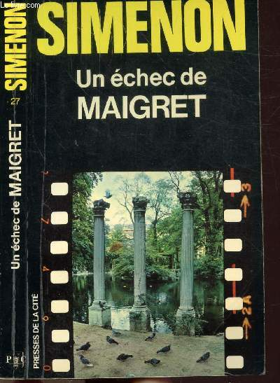 UN ECHEC DE MAIGRET - COLLECTION MAIGRET N°27