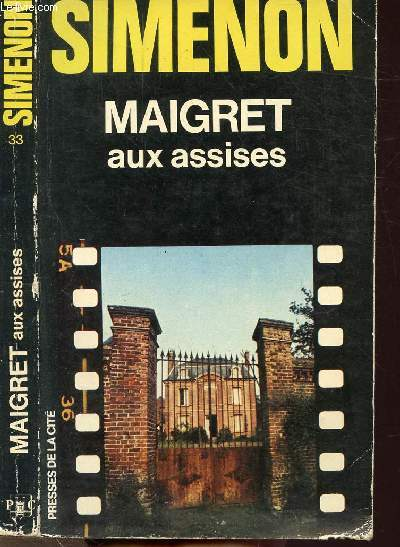 MAIGRET AUX ASSISES - COLLECTION MAIGRET N°33