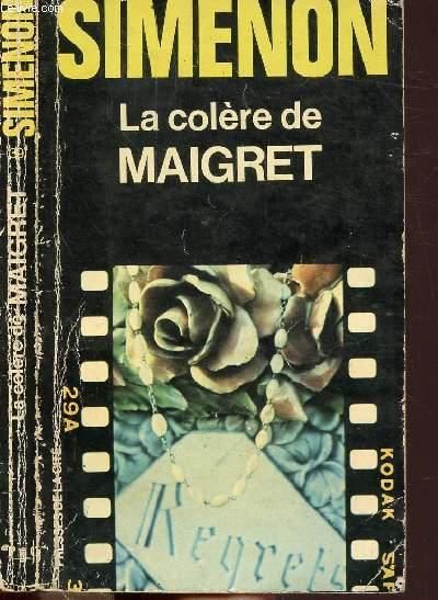 LA COLERE DE MAIGRET - COLLECTION MAIGRET N°39
