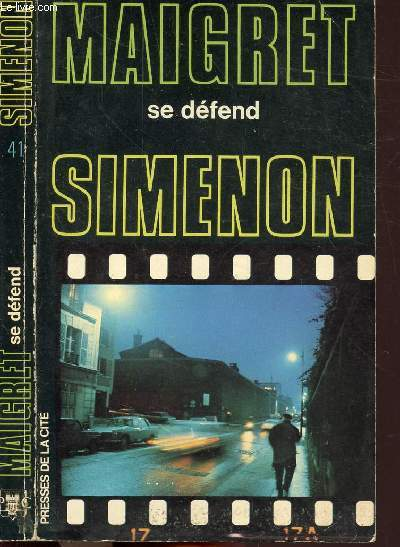 MAIGRET SE DEFEND - COLLECTION MAIGRET N°41