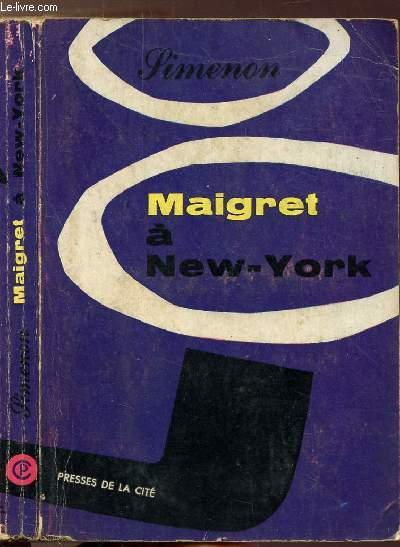 MAIGRET A NEW-YORK