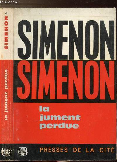 LA JUMENT PERDUE - COLLECTION MAIGRET N°4