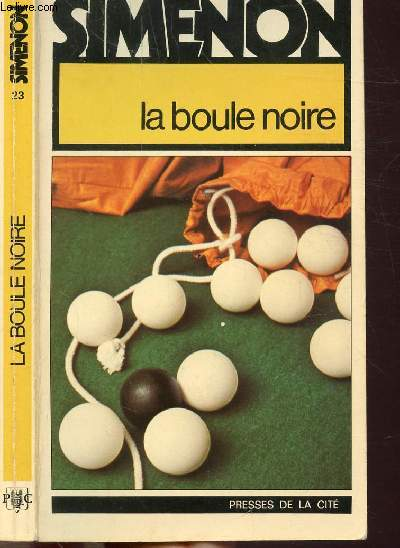 LA BOULE NOIRE - COLLECTION MAIGRET N°23