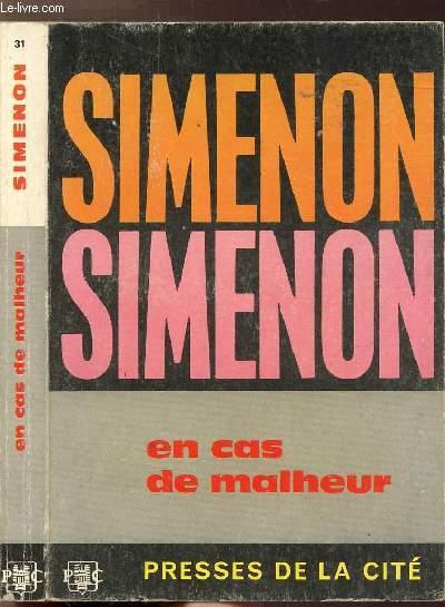 EN CAS DE MALHEUR - COLLECTION MAIGRET N°31