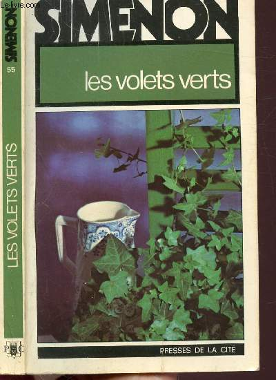 LES VOLETS VERTS - COLLECTION MAIGRET N°55