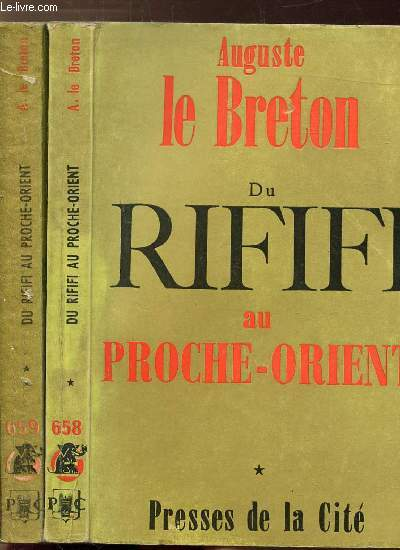 DU RIFIFI AU PROCHE-ORIENT - 2 VOLUMES - TOMES I+II - - COLLECTION